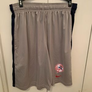 Nike shorts NY Yankees MLB Cooperstown Collection